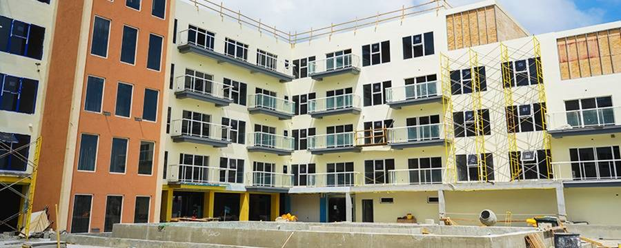 Check out the progress of Harbour House Aruba